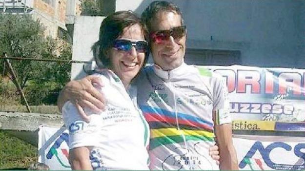 campioni, fidanzati, marathon, mountain bike, Francesca Caruso, Francesco Pizzo, Sicilia, Catania, Sport