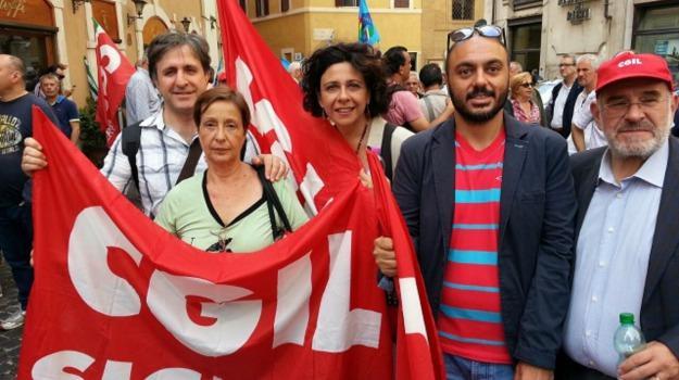 Cgil, contratti, LAVORO, sindacati, Sicilia, Enna, Economia
