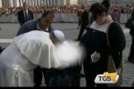 Disabile palermitano incontra Papa Francesco