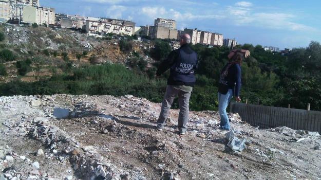 DISCARICA, oreto, polizia municipale, rifiuti, Palermo, Cronaca