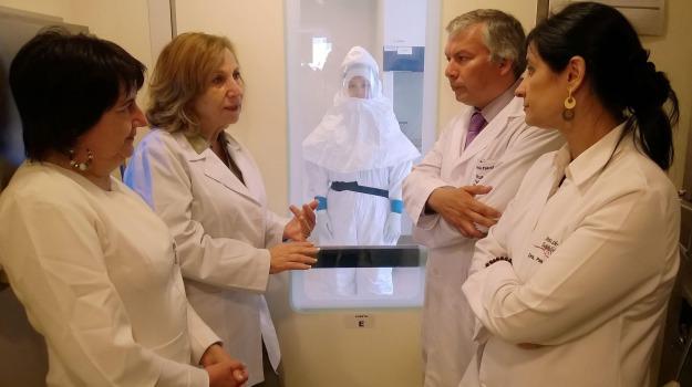 ebola, guarigione, Madrid, Sicilia, Mondo
