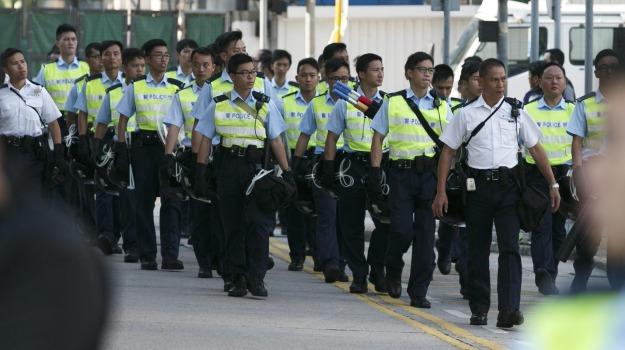 Hong Kong, manifestanti, protesta, studenti, Sicilia, Mondo