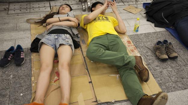 CINA, esteri, Hong Kong, protesta, studenti, Sicilia, Mondo