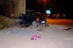 Auto contro un muro: muoiono due giovani. Lutto cittadino a Salemi
