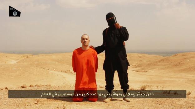 giornalista, Isis, terrorismo, James Foley, Sicilia, Mondo