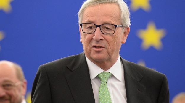 commissione, europa, ue, Jean Claude Juncker, Sicilia, Mondo