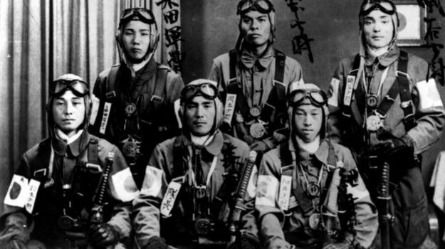 aviatori, giappone, kamikaze, Sicilia, Mondo