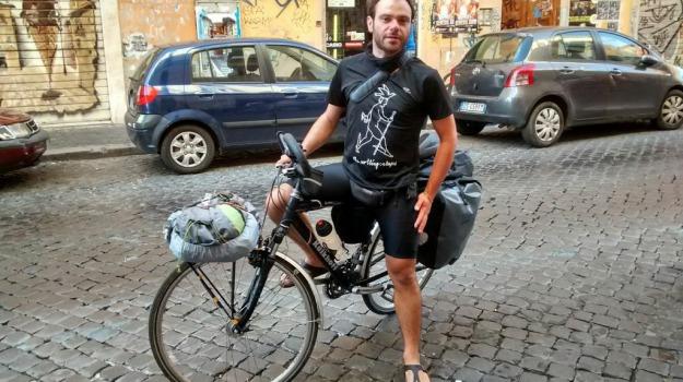 bicicletta, germania, Sicilia, viaggio, Palermo, Società
