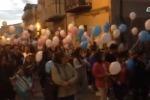 Una marcia silenziosa per gli angeli di Macalube