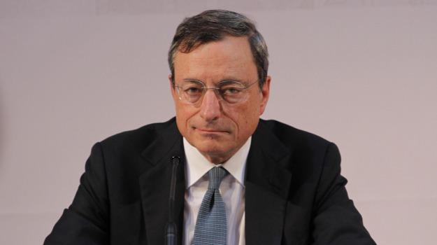 Bce, Crisi, italia, Ignazio Visco, Mario Draghi, Sicilia, Economia