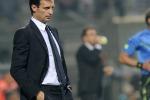 """Juve, Allegri: """"Pari amaro col Sassuolo"""" Vince la Roma e pensa al Bayern"""