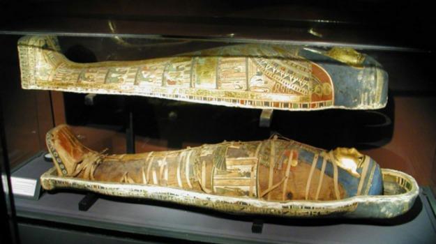 egitto, gioielli, museo, reali, sarcofago, Sicilia, Mondo