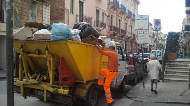 rifiuti, Sciacca, sogeir, Agrigento, Economia