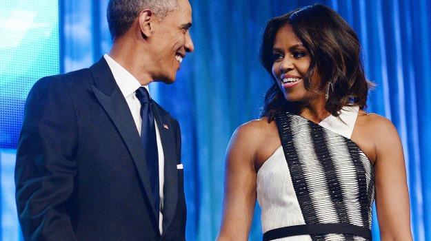 anniversario, festeggiamenti, matrimonio, Barack Obama, Michelle Obama, Sicilia, Mondo
