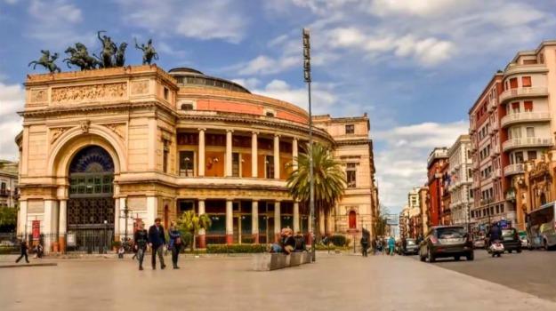Palermo. orchestra sinfonica siciliana, politeama, Palermo, Cultura