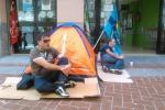 A Palermo protesta dei dipendenti ex Coop. Le foto