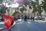 Stop ai fondi per i forestali, protesta a Palermo