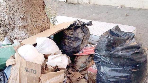 emergenza, mussomeli, rifiuti, Caltanissetta, Cronaca