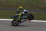 A Valencia vince Marquez Rossi secondo nel mondiale