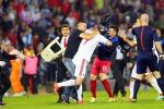"""Fermata la partita Serbia-Albania,mega rissa in campo per """"Kosovo libero"""""""