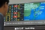 Arriva il tifone Phanfone, piogge torrenziali a Tokyo: cancellati 150 voli
