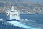 Catania-Cavese, scontri tra tifosi sul traghetto a Messina