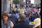 Turismo, boom di crocieristi a Taormina