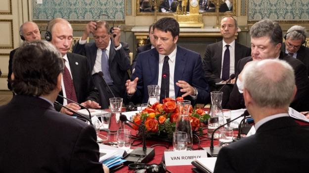 Ucraina, Angela Merkel, Vladimir Putin, Sicilia, Mondo