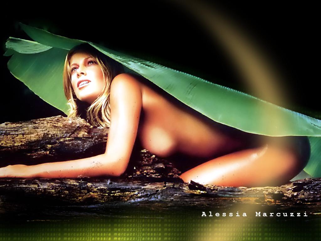 Alessia marcuzzi topless video #7