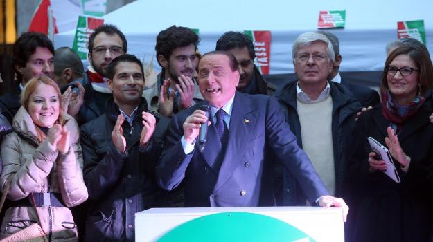 cavaliere, centro destra, leader, Sicilia, Politica