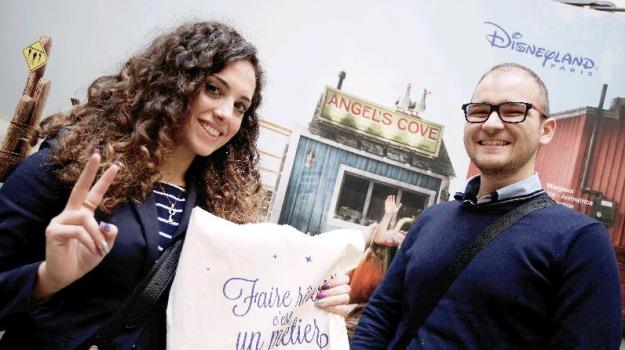 lavoro Disneyland, lavoro palermo, lavoro sicilia, selezioni Disneyland, Palermo, Economia
