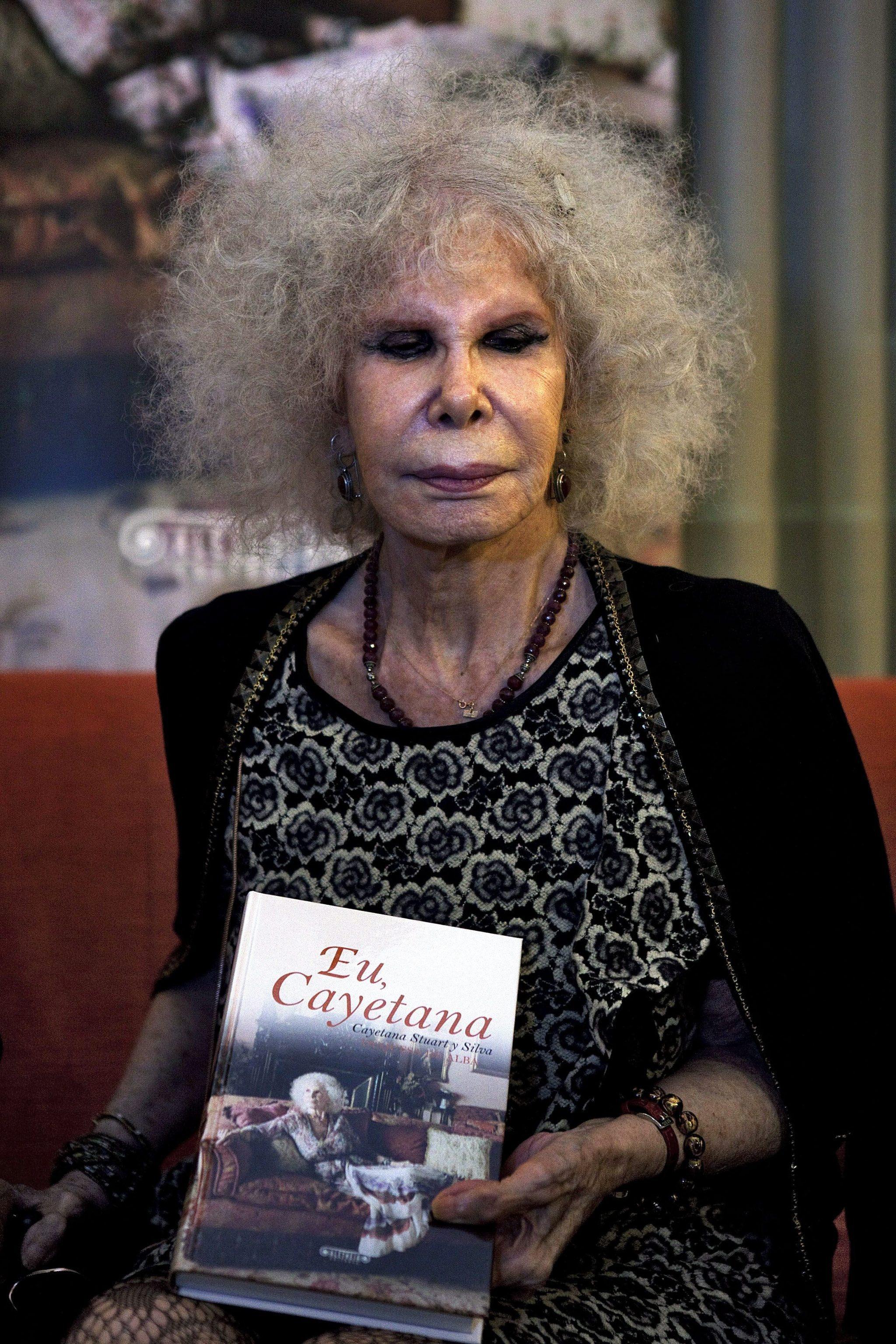 Muore la duchessa d'Alba, la donna più aristocratica d