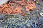 Riciclaggio di rame a Catania, 4 arresti e 6 tonnellate sequestrate