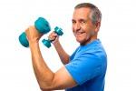 Gli anziani e le vibrazioni che rinforzano ossa e muscoli