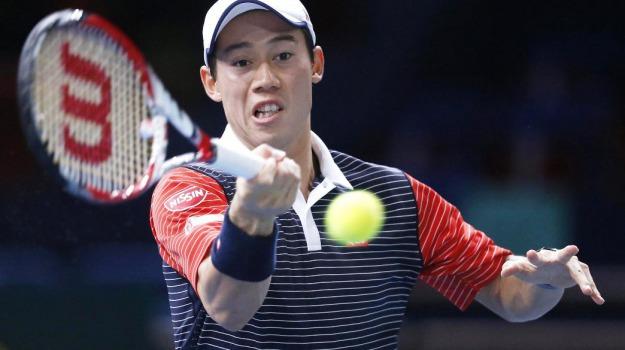 Atp, Tennis, torneo Parigi-Bercy, David Ferrer, Kei Nishikori, Milos Raonic, Rafa Nadal, Roger Federer, Sicilia, Sport