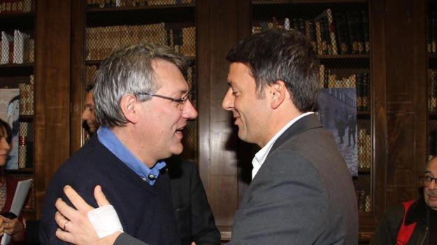 corruzione, governo, pena, Matteo Renzi, Maurizio Landini, Sicilia, Politica