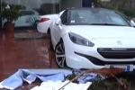 Piogge e tromba d'aria nel Catanese: danni