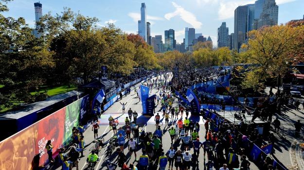 maratona, New York, percorso, Sicilia, Società