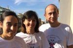 Con gli amici alla maratona di Palermo ricorderà la figlia scomparsa a 11 mesi