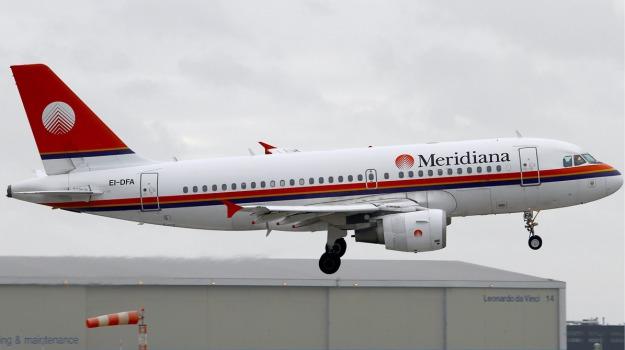 aerei, Meridiana, volo, Sicilia, Economia