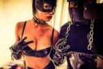 Nicole Minetti dal bikini al costume fetish: ad Ibizia la notte hot dell'ex consigliera - Foto
