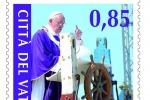 Arriva il francobollo sul Papa a Lampedusa, il ricavato ai migranti
