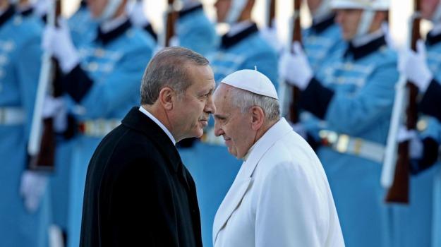 Instanbul, papa, Turchia, viaggio, Papa Francesco, Sicilia, La chiesa di Francesco, Mondo