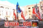 I lavoratori del Coime protestano a Palermo