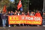Corteo a Palermo, c'è anche il leader della Fiom Landini