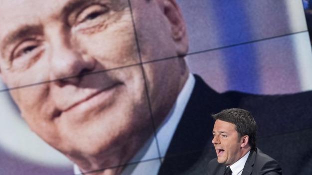 italia, italicum, palazzo chigi, politica, Matteo Renzi, Silvio Berlusconi, Sicilia, Politica