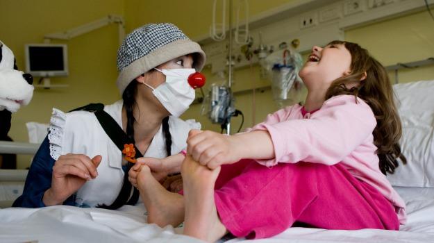 clown terapia, ospedale trapani, Trapani, Cronaca