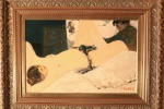 Salvatore Fiume Lo studio del pittore, 1989