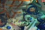 Arriva sullo spazio la prima donna astronauta italiana: comincia la missione di Samantha Cristoforetti - Tutte le foto della partenza