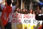 Scuola, gli studenti protestano in vari comuni dell'Agrigentino